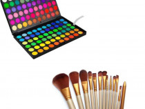 Trusa Make-up profesionala + pensule 12 set