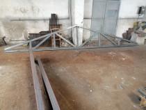 Ferme de 6m pt casa metalica garaj anexe