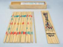 Joc cu bete si cutie din lemn Mikado Spiel