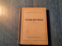 Introducere in Teoria betonului vol. 1 Vasile Nicolau