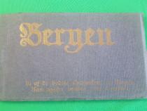 Set complet 10 carti postale necirculate Bergen anii 1910-19