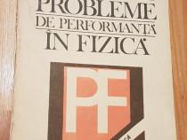 Probleme de performanta in fizica de Mihail Sandu