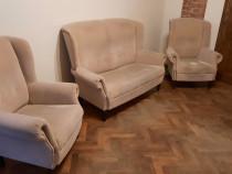 Canapea si doua fotolii