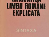 C. Dimitriu - Gramatica limbii romane explicata (Sintaxa)