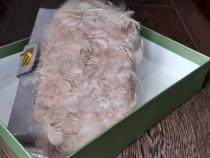 Poseta plic perry ellis heandmade, pene naturale, companie,