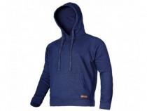 Jachetă hanorac cu glugă albastra - l