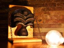 Mască teatrală artizanală – personaj Dottore – Commedia