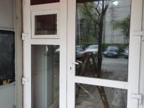 Ușa de termopan dublă