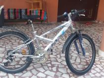 Bicicleta aluminiu marca Draco 24 zoll