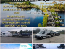 Transport romania finlanda