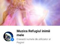 Pagina de Facebook Muzica refugiu inimi mele