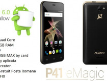 Telefon Allview P41 Emagic Quad Core 1GB RAM !NOU BOX!
