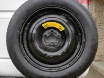 Roata rezerva Slim Mercedes ML W163, W164, an 1997 - 2011