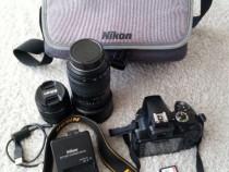 DSLR Nikon D3300 KIT AF-P 18-55mm; Tamron AF 70-300mm + CADO
