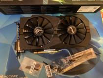 Placa video ASUS GeForce GTX 1050 Ti STRIX O4G, 4GB DDR5