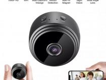 Camera Spion Magnetica Full HD Wireless cu Card