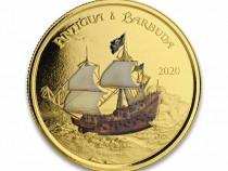 Moneda de colectie Antigua&Barbuda editie 100 monede in lume