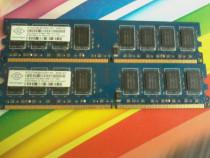Kit ram Nanya double-sided 4GB 2Rx8 PC2 6400U 800mhz