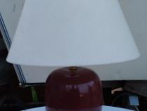 Veioza cu baza din ceramica