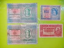C564-Bancnote Austro- Ungaria vechi. Pret pe bucata. Exista