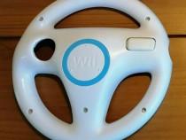 Volan Wii Mario Kart alb Original Volan Wii Mario Kart alb