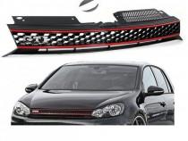 Grila sport tuning fara emblema VW Golf 6 RS GTI look fagure