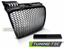 Grila sport tuning Audi A4 B7 RS Style negru lucios NOU