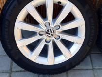 """Jante Aluminiu / Aliaj /16"""", 5x112 + anvelope - Audi, Golf"""