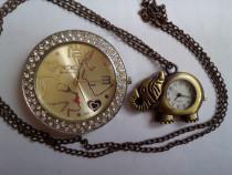 2 ceasuri fashion, funcționale, deosebite, bine păstrate
