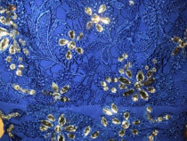 Rochie festivă albastră