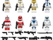 Set 8 Minifigurine tip Lego Star Wars cu Clone Pack5