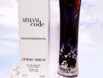 Armani Code Giorgio Armani/ Tester original/ Ambalare Parfum