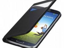 Husa Flip S-View Originala Samsung S4 Negru - EF-MI950BBEGWW