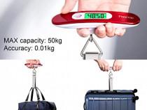 Cantar electronic pentru bagaje maxim 50 kg display LCD NOI