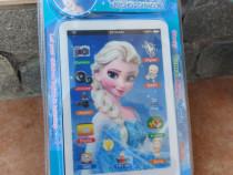 Tableta 5D pentru copii cu touch pe baterii cu melodii