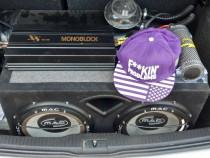 Subwoofer auto mac 600w rms