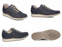 Pantofi sneakers CallagHan, piele naturala, handmade - NOI