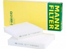 Filtru Polen Mann Filter Citroen C3 2 2009→ CU21000-2