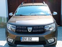 Dacia Sandero stepway ,09 tce, 90cp, euro 6, 2018, garantie