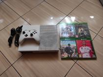 Consola Xbox One S peste 380 jocuri Fortnite RDR2 FS Forza