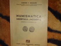 Numismatica medievala si moderna -Corneliu Secasanu