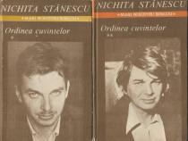 Nichita Stanescu - Ordinea cuvintelor (Vol 1 si 2)