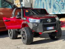 Masinuta electrica pentru 2 copii Toyota Hilux 4WD #RED