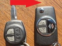 Carcasa cheie tip biceag Suzuki Vitara SX4 Jimny Ignis Swift