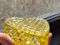 Cutie bijuterii rășină Inimioară