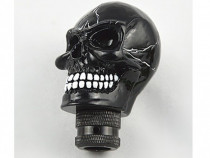 Maner nuca schimbator viteza masina auto Black Skull craniu