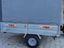 Remorca Tiemme MS 750, an 2017, util 450 kg, import Italia