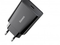 Adaptor Baseus Speed Fast Charger 20w, Iesire Usb-C, 3a