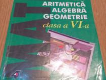Aritmetica, algebra, geometrie pentru clasa a VI-a - 2000+2