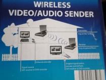 Transmițător receptor wireless audio-video